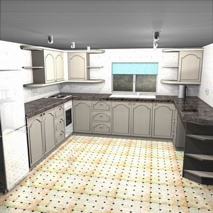 Picture of Show room kitchen