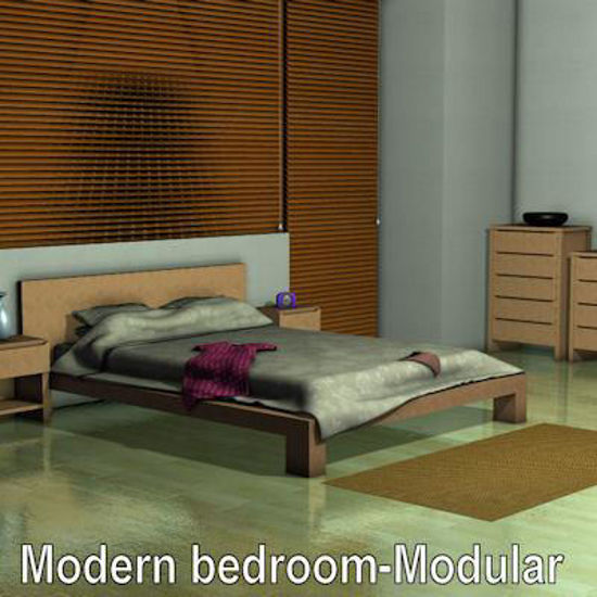 Picture of Modern bedroom