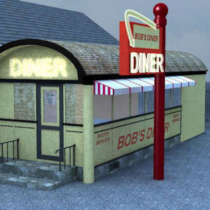 Picture of Bob's Diner