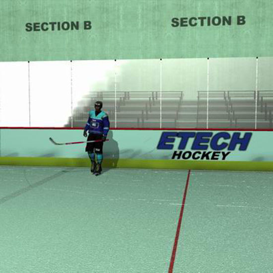 Picture of Ice Hockey Rink - Poser 6 and above