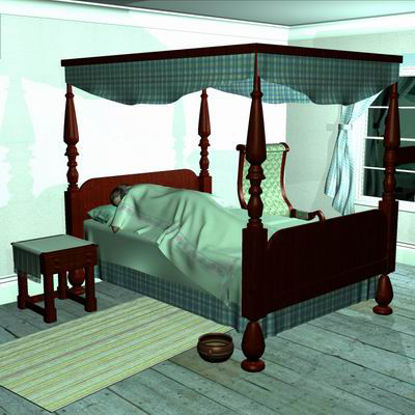Picture of Classic bedroom