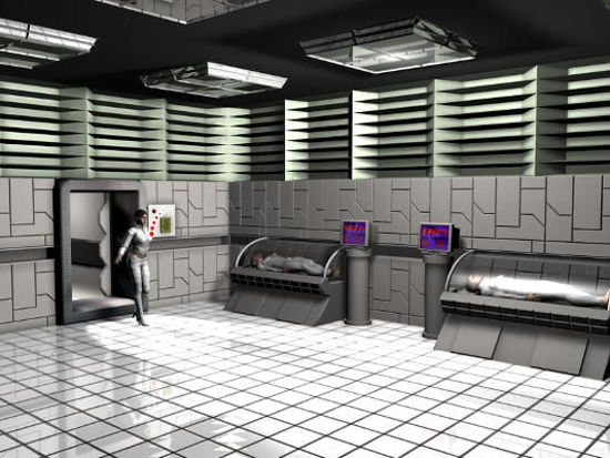 Picture of Cryo Sleeping SCI-FI chamber
