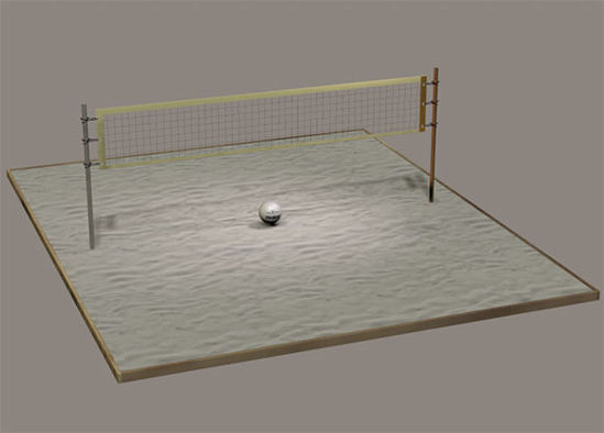 Picture of Volleyball Court Model Set