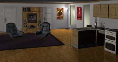 Picture of Bachelor pad