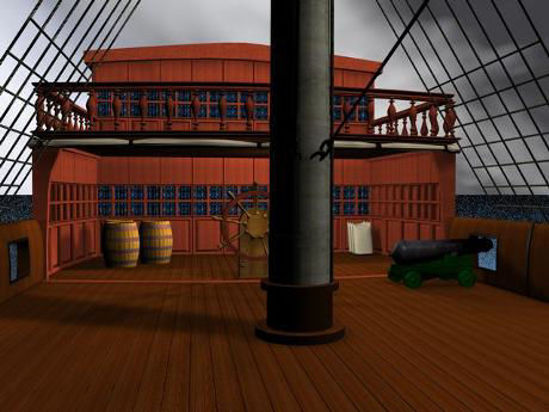 Picture of Ship Deck - shipsbarrel