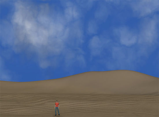 Picture of Basic Desert Scene