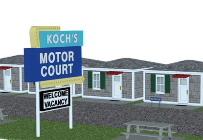 Picture of Americana Motor Court Scene