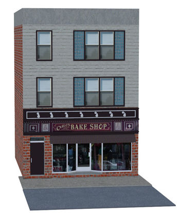Picture of Bake Shop Building and Street Scene