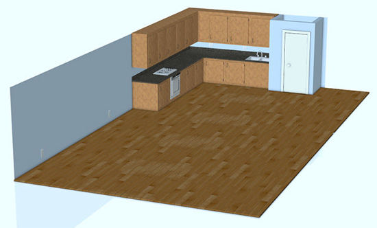 Picture of Kitchen Area Scene / Environment