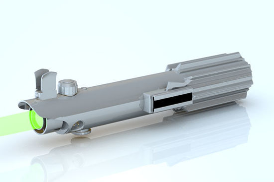 Picture of Sci-Fi Laser Light Saber Model - Poser and DAZ Studio Format