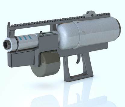 Picture of Sci-Fi Heavy Assault Weapon Model