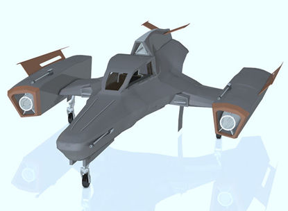 Picture of Futura Fighter Sci-Fi Aircraft Model