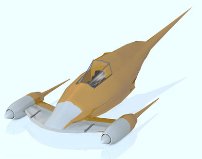 Picture of Sci-Fi Fighter Model