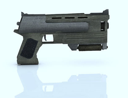 Picture of Sci-Fi Pistol Number 2