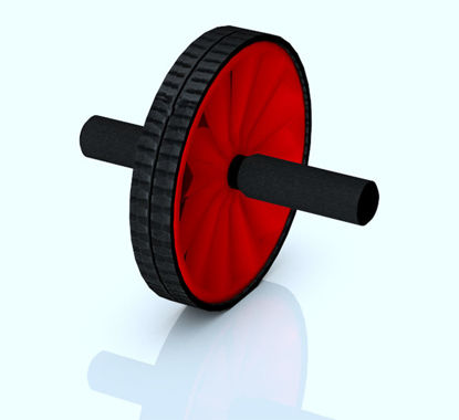 Picture of AB Wheel Fitness Equipment Model
