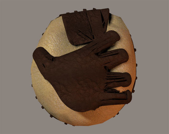 Picture of Baseball Catcher's Mitt Prop