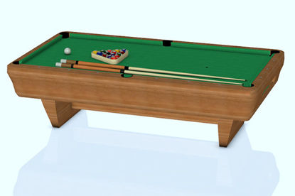 Picture of Billiard Table Model with Movements