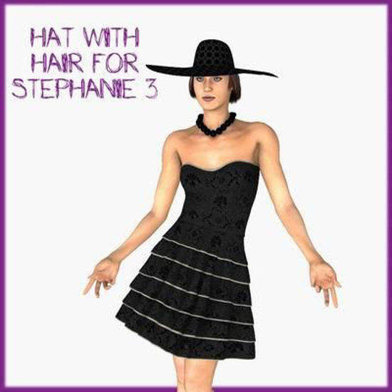 Picture of RaRa hat with hair for Stephanie 3