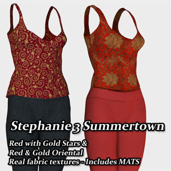 Picture of Red and Gold Outfits for Stephanie 3 Summertown