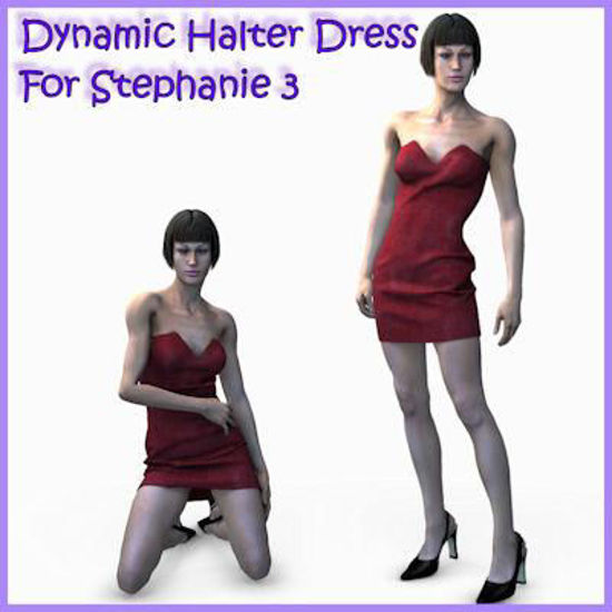 Picture of Dynamic Halter dress for Stephanie 3