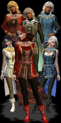 Picture of 4 Elements Lords Map Pak For DAZ's Adventurer