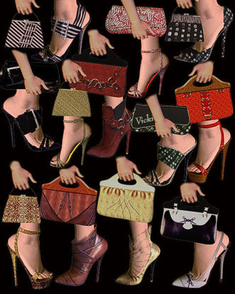 Picture of Nightlife Shoes styles bags