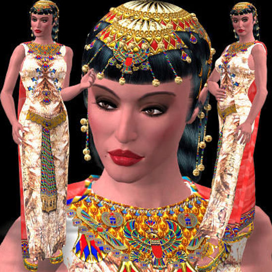 Picture of Nefertiti's Formal Set
