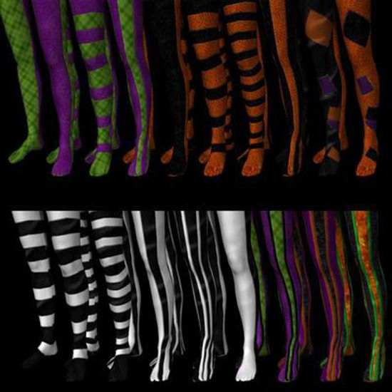 Picture of Halloween Stockings