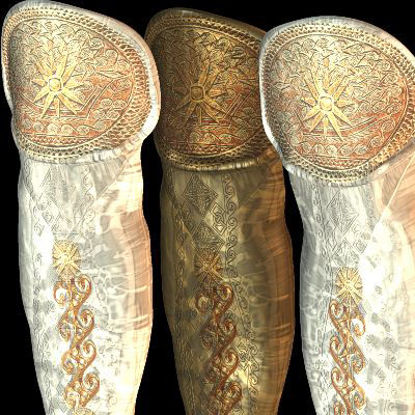 Picture of Greek Extra ShinGuards textures