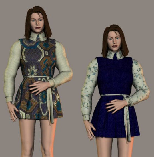 Picture of V3 Dress Texture - sttdressv3TEX