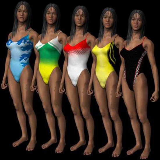 Picture of SwimSuit textures