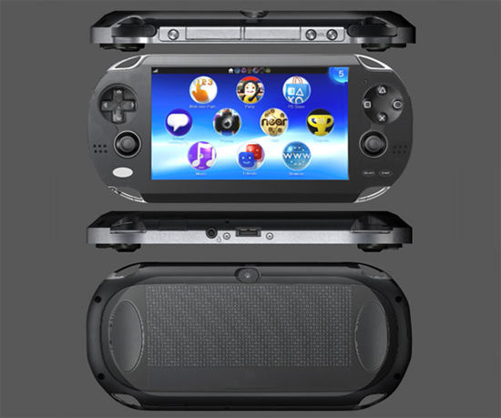 Picture of Handheld Video Game Console Model