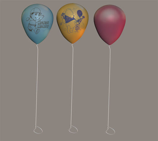 Picture of Children's Party Balloons Toy Props