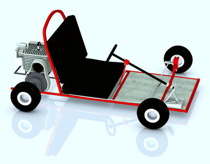 Picture of Children's Go Kart Vehicle Prop