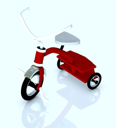 Picture of Children's Tricycle Toy Prop