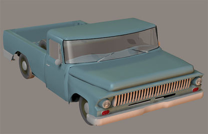 Picture of 1960's Era Farm Pickup Truck Model