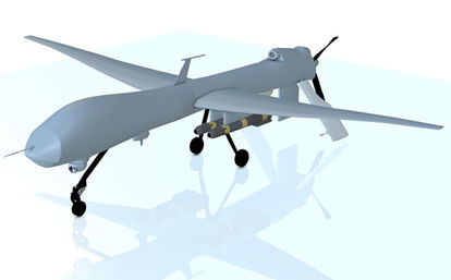 Picture of Predator UAV Drone Aircraft