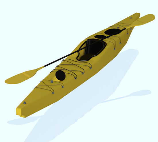Picture of Kayak Boat Prop