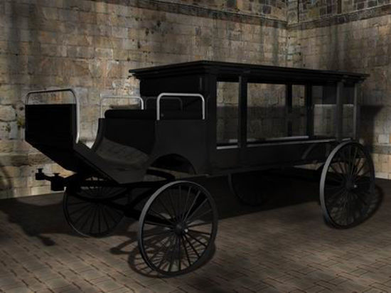 Picture of Horse drawn hearse