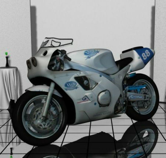 Picture of Sports motorbike