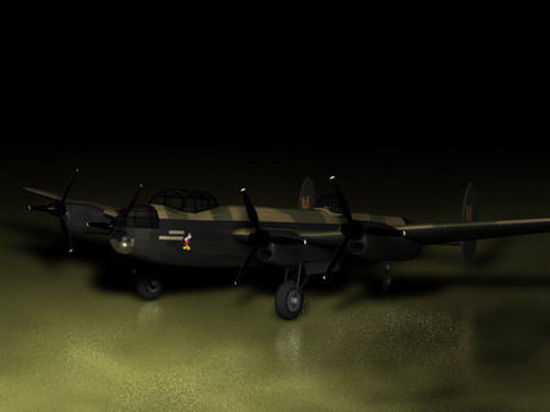 Picture of Avro Lancaster WW2 Bomber