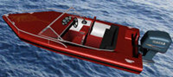 Picture of Outboard Motor Boat Model