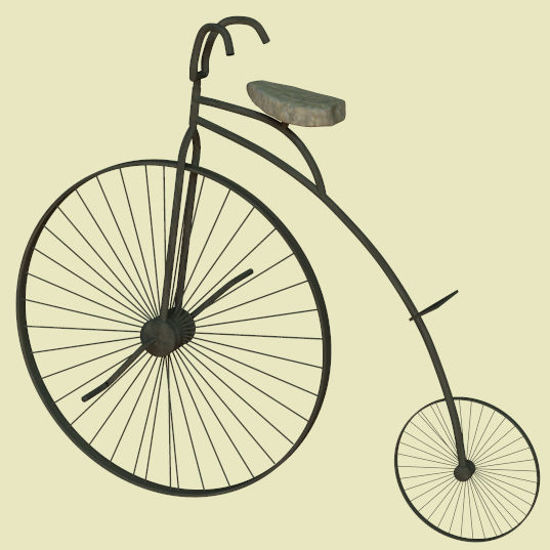 Picture of Victorian Era Bicycle
