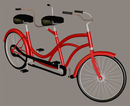 Picture of Bicycle Built for Two Model
