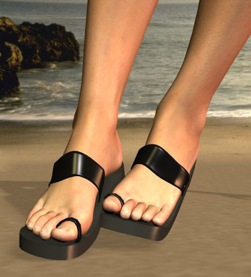 Picture of Ring toed sandles for All Vickys