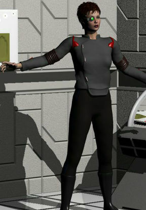 Picture of Victoria SciFi officer