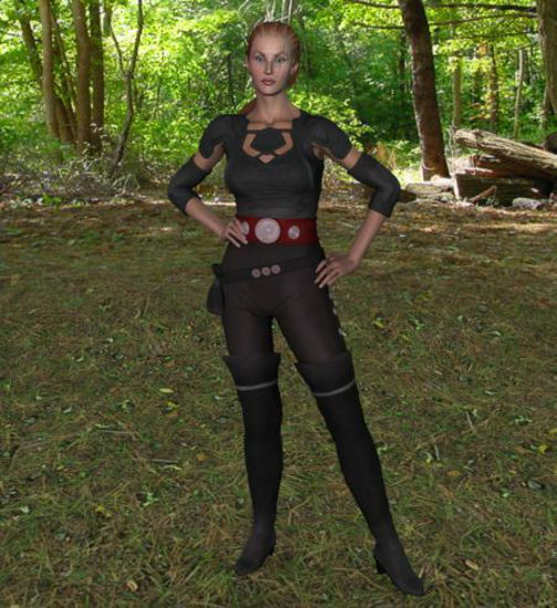 Picture of Wasteland Warrior for Victoria 2-3 & Vittorio - Poser / DAZ 3D ( V2 )
