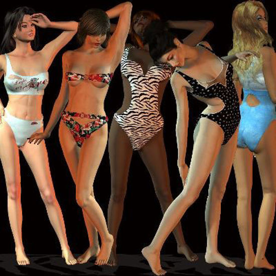Picture of Swimsuit 1 variations