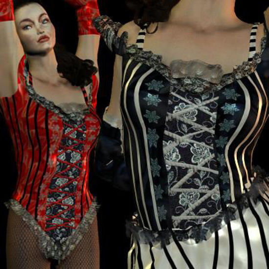 Picture of Saloon Gal Corset