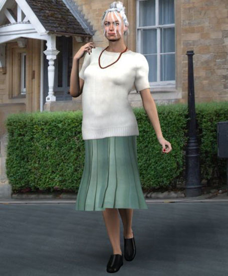 Picture of Mature style clothing for Vicky 2